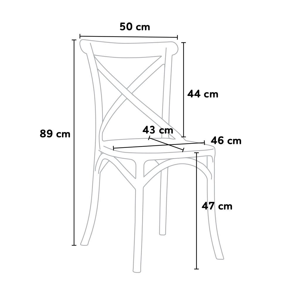 sedie size